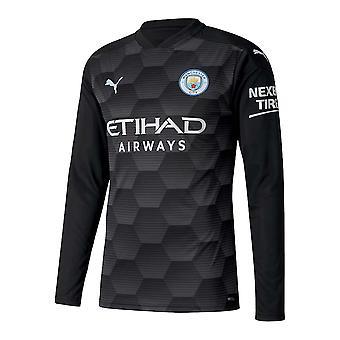 2020-2021 Man City Home Goalkeeper Shirt (Black)