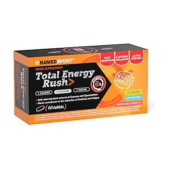 Total energy rush 60 tablets