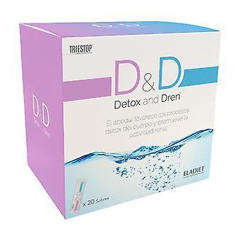 D&D Detox and Dren 20 packets