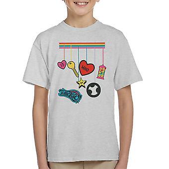 La camiseta de la niña del futuro del doctor Who del Señor Rainbow Drop