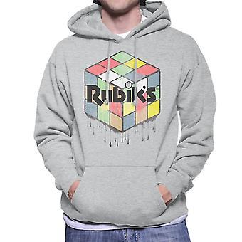 Rubik's Urban Cube Men's Hooded Sweatshirt