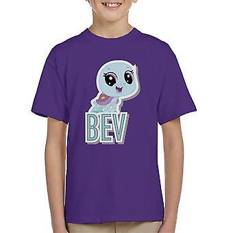 Littlest Pet Shop Bev Cut Out Lettering Kid's T-Shirt