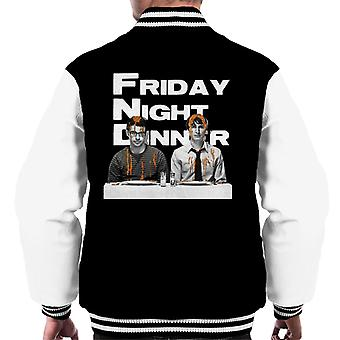 Friday Night Dinner Adam And Jonny Men's Varsity Jacket