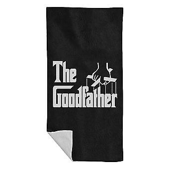 The Goodfather Godfather Beach Towel