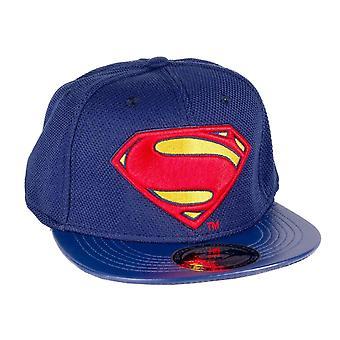 Superman Baseball Cap DC Comics Classic S Logo Official New Navy Snapback Hat