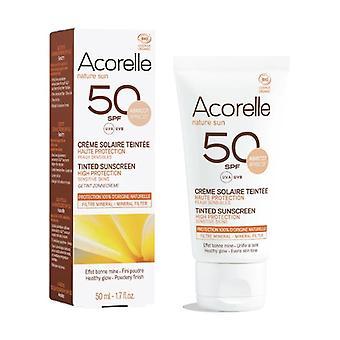 Apricot Color Cream SPF50 50 ml of cream