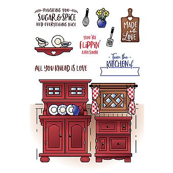 LDRS Creative Country Kitchen Clear Stamps