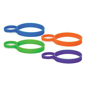 Klean Kanteen Silicone Pint Cup Ring - 4 pack - durable non toxic silicone
