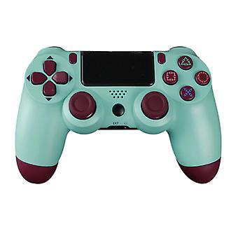 Stoff zertifiziert® Gaming Controller für PlayStation 4 - PS4 Bluetooth Gamepad mit Vibration Green