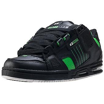 Globe Sabre Mens Skate Trainers in Black Green