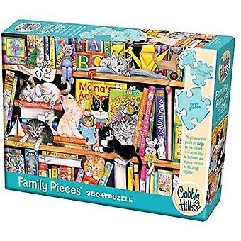 Cobble hill - storytime kittens - family 350 pc puzzle