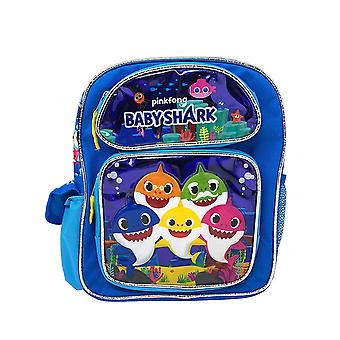 Small Backpack - Pink Fong - Baby Shark Blue 12