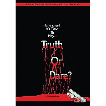 Truth or Dare? [DVD] USA import