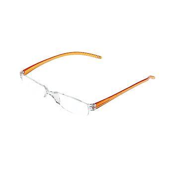 Lesebrille Unisex  Facile orange Stärke +2,00 (le-0129C)