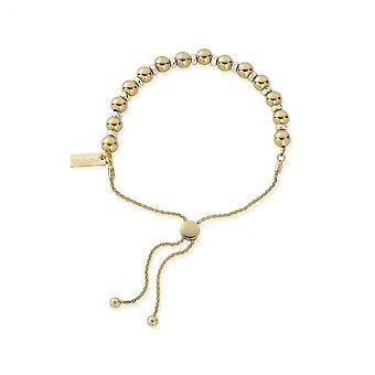 ChloBo Gold And Silver Adjuster Bracelet GMBBCOA