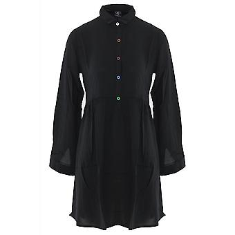 Fearless Illustration Daydreamin' Shirt Dress
