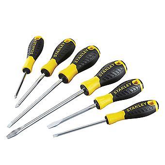 Stanley Tools 0-60-209 Essential Screwdriver Set of 6 SL/PH STA060209
