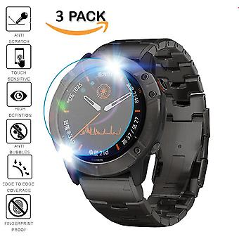 3pcs Schutz für Garmin Fenix 5/5 s Plus 6s 6x 6 Pro Ultra Clear Tempered-Glass-Film Guard Premium Screen-Protector Uhr Film