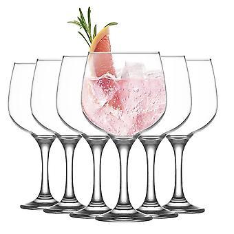 LAV Combinato Gin and Tonic Balloon Glass - 730ml - Pack de 6 Copa Gin & Tonic Goblets