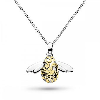 Kit Heath Blossom Bumblebee Gold Plate 18 Necklace 90339GD014