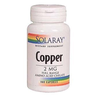 Solaray Rame, 2 mg, 100 Tappi