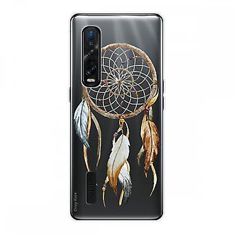 Hull For Oppo Find X2 Pro In Silicone Soft 1 Mm, Catch Nature Dreams