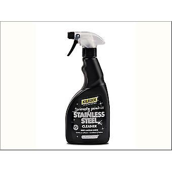 Kilrock Black Stainless Steel Spray 500ml