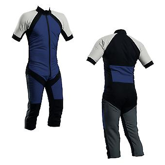 Skydiving summer suit navy-silver-charcoal s2-04