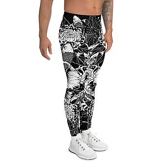 Koi Fish Printed Leggings