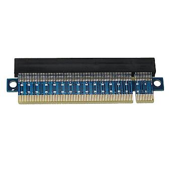 PCI-Express PCI-E 16X 164 pin Protector Upward Riser Card Blue PCB Board