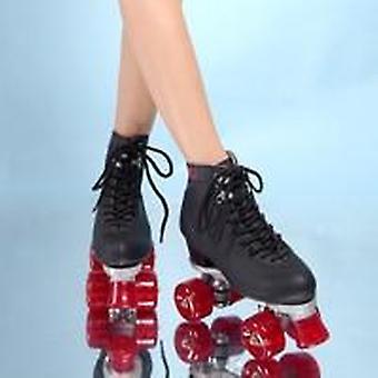 4 عجلات الأسطوانة التزلج على الجليد عالية- أحذية