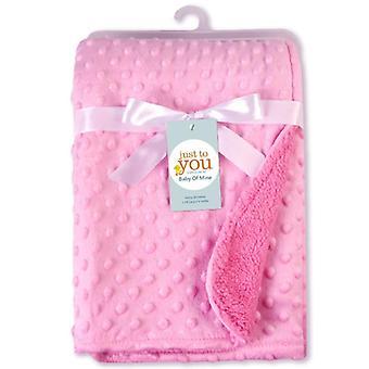 Fleece Soft Baby Blanket, Minky Quilt, Kids Bedding Cover