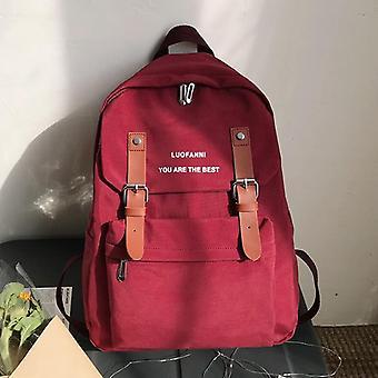 Female Backpack, Waterproof, Women Nylon Shoulder Bag, Anti-theft Travel, Large
