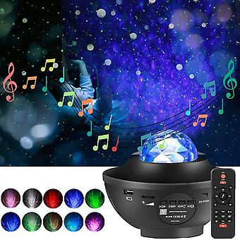 Usb Colorful Starry Sky Projektor Led Star Night Light Music Projektor