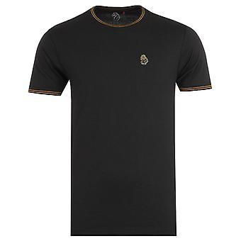 Luke 1977 Looper Gold Twin Tipped Black T-Shirt