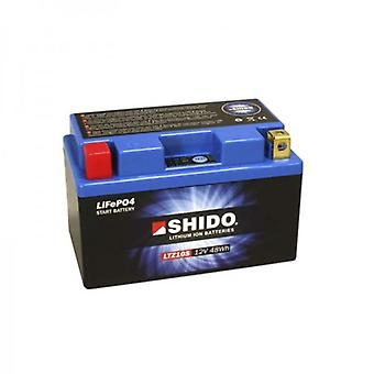 Shido Motorcycle Lithium Iron Battery LiFePO4 12V 4Ah 0 9kg 150x87x93mm