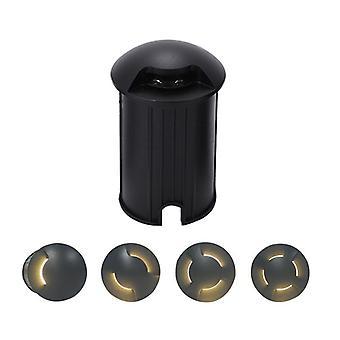 Underground Light Ip67 Ac85-265v Dc12v Outdoor Recessed Deck Light 1/2/3/4 Side