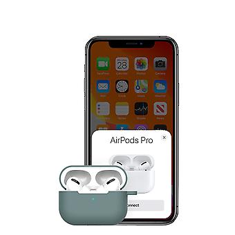 Compatible With Airpods Pro Case,soft Silicone Skin Case Cover Shock-absorbing Protective Case With Keychain
