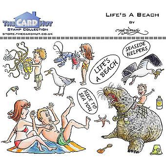 The Card Hut Great Outdoors: Life's A Beach Clear Stamps