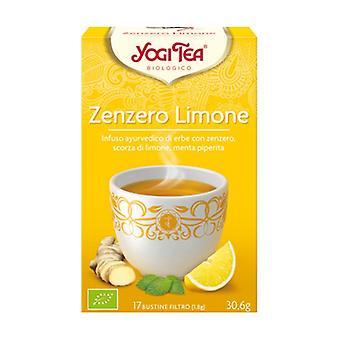 Lemon ginger 17 infusion bags