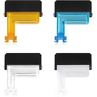 Mcoplus df6500 multicolor 4 en 1 flash difusor mini flash rebote portátil pieza de luz suave trabajo fo fo