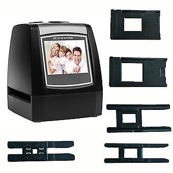 Winait max 22mp high resolution 35mm/135 film scanner negative/slide film converter (black) black