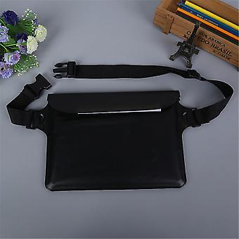 3-layer Sealed Outdoor Water Sports Fanny Pack For Swimming, Diving & Touch