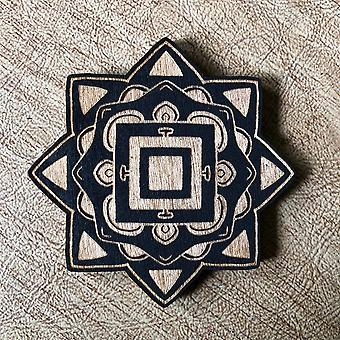 Painted Mandala - Magnet