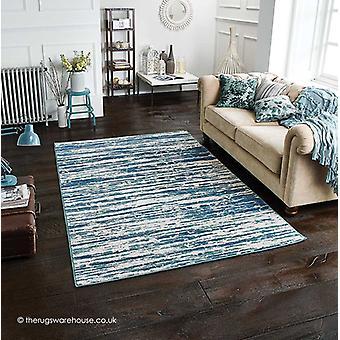Chloe Vintage blå matta