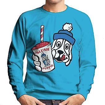 Slush Puppie Retro Cup Logo Homme & s Sweatshirt