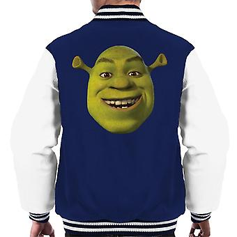 Shrek Smiling Men's Varsity Jacket