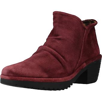 Fly London Booties Wezo890fly Color Wine