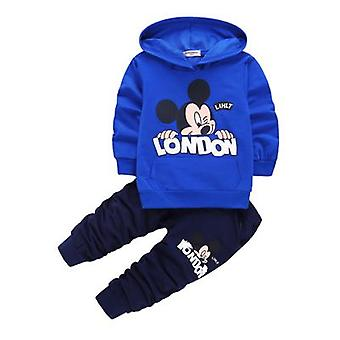 Boys Hooded Top And Pants, Design 4