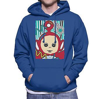 Teletubbies Po The Fourth Teletubby Men's Hooded Sweatshirt